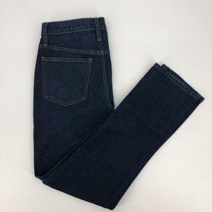 "J. Crew Vintage 10"" Dark Straight Jeans"